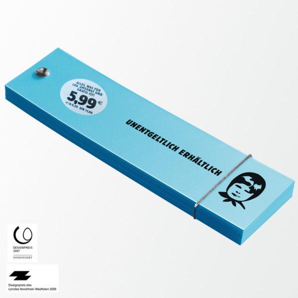 Umsonstbuch »Unentgeltlich erhältlich«