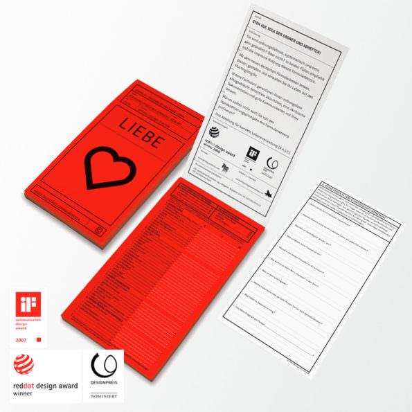 Formularblock »Liebe«
