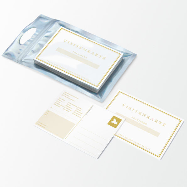 Visiten-Kartenset
