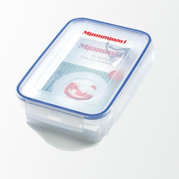 Mjammjam – das weltweit erste spülfeste Kochbuch