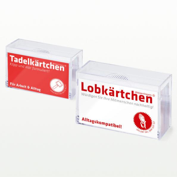 Lob & Tadel-Set
